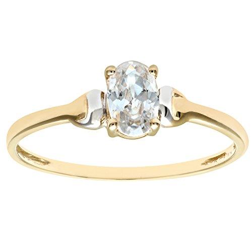 Citerna Damen-Ring 9 K 375 Gelbgold Zirkonia Gr. 47 (15.0) PR02367YW CZ-H
