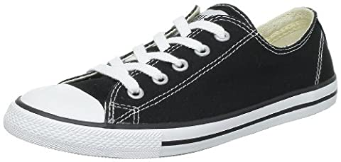 Converse As Dainty Ox, Sneakers Basses mixte adulte Noir, 40