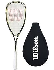 Wilson Ripper 140 BLX Squash Raqueta + Cubierta