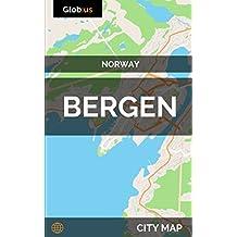 Bergen, Norway - City Map