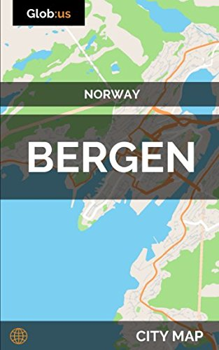 Bergen, Norway - City Map