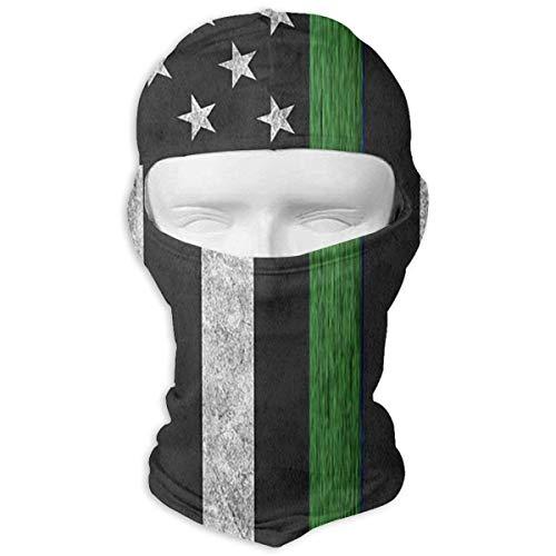 he grüne Linie Flagge windundurchlässige staubdichte Gesichtsmaske UVschutzhaube-Hut ()