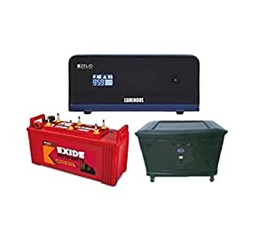 Exide 150 Ah Battery With Zelio 1100 Inverter