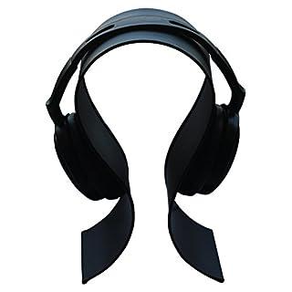BIG SALE - AB Handicrafts - Metal Headphone Stand Gaming Headset Holder / Hanger - Black / Suitable For All Headphone Size