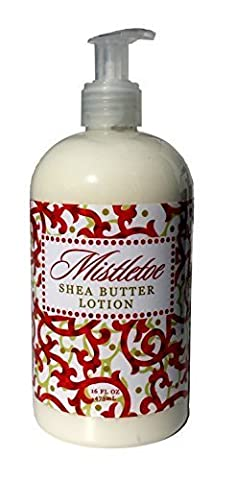 Greenwich Bay Mistletoe Shea Butter Hand & Body Lotion Enriched with Cocoa Butter 16 oz by Greenwich Bay Trading Company