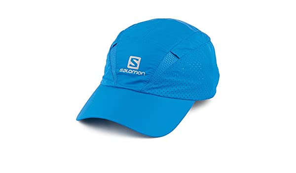6f4ea82735552 Salomon Hats XA Baseball Cap with Neck Protector - Blue Blue Large/X ...