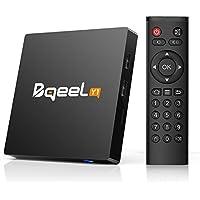Bqeel Android TV Box 7.1 1GB/8GB Y1 TV Box Android Quad-Core 64bits Wi-FI 2.4G 802.11 b/g/n Gigabit 4K Android Smart TV Box H.265 HD