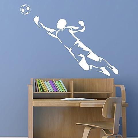 Da portiere da calcio, Sport-Sticker Wall Art in vinile, motivo
