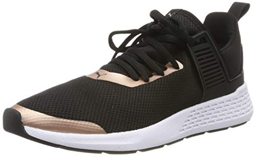 PUMA Insurge Mesh 2.0, Zapatillas Unisex Adulto, Black-Rose Gold White, 41 EU