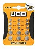 JCB Armbanduhr Batterien-15gemischt...