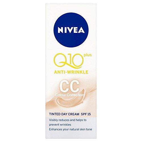 Nivea Q10 Plus CC Anti rides crème teintée Jour (50ml) - Paquet de 6