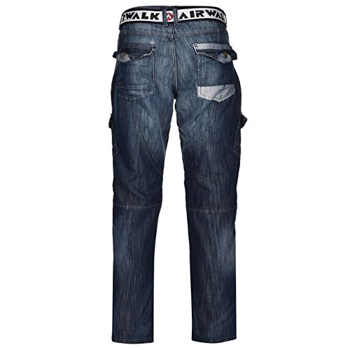Airwalk - Jeans - Homme Mid Wash