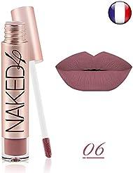 Rouge à lèvre mat NAKED 4 waterproof semi permanent longue durée o.two.o