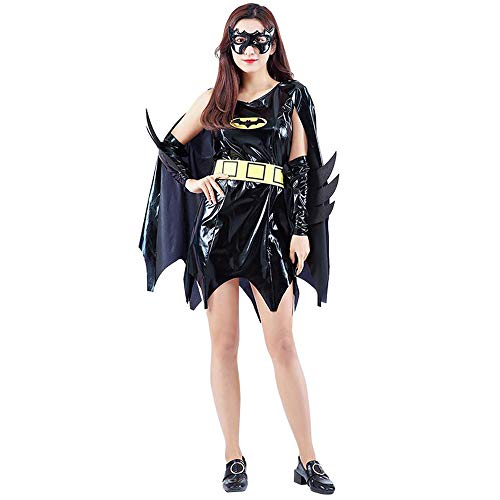 SVFD Halloween Kostüm Adult Mantel Anime Männer und Frauen Batman Kostüm Dark Knight Kostüm B-OneSize