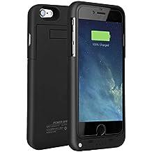 Funda Batería iphone 6 / 6s , SAVFY® Case carcasa Con Batería Cargador-batería Externa Recargable 3200mAh Para iPhone 6 / 6s 4.7 (Negro)