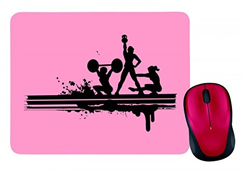 Gewichtheben-ausrüstung (Mauspad