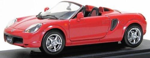 Ebro 1/43 Toyota MR-S montrent voiture rouge | La Qualité Des Produits