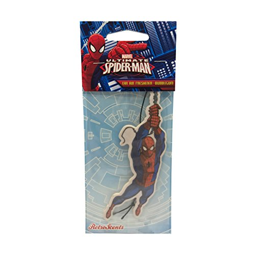 Marvel sm2d1 Spiderman Bubblegum Lufterfrischer