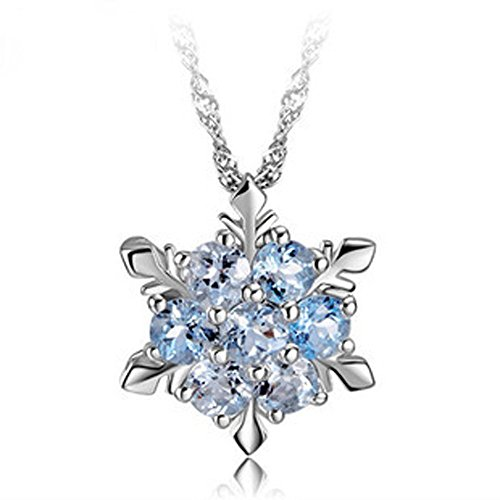 findout signore swarovski sterling argento diamante blu