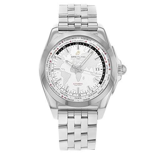 Breitling Galactic WB3510U0/A777–375a tungsteno & acciaio automatico orologio da uomo