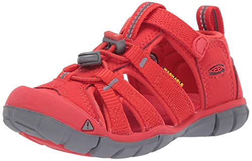 KEEN Kinder Sandale Seacamp 2 CNX Youth Fiery Red 37 (Keen-red)