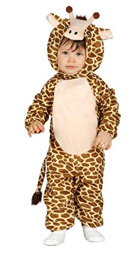 Baby Giraffe Kostüm - Guirca Kostüm Giraffe Baby, Gr. 12-24Monate (85992.0)