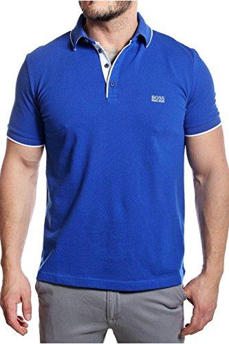 Preisvergleich Produktbild Hugo Boss Black Regular Fit Poloshirt Firenze 49 50285339 XXL Blau