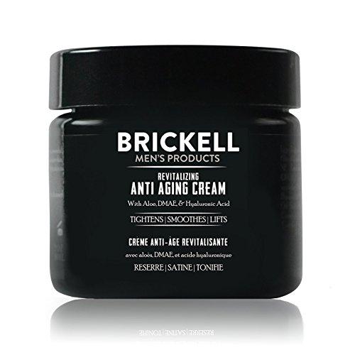 Brickell Men's Products: Revitalisierende Anti-Aging-Creme, Natürliche und Organische Anti-Falten-Gesichtscreme für die Nacht (Duftend, 2 Ounce) - Dmae Haut Creme