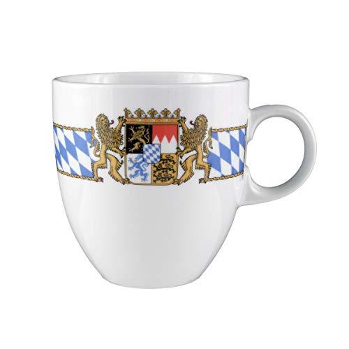 Seltmann Weiden 001.479426 Compact Bayern Becher 0,50 L, Blau/Weiß/Gelb/Rot Green Espresso-tasse