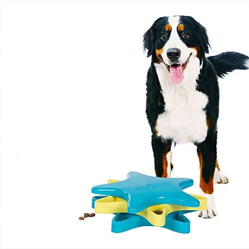 (Teammao Haustier Intelligenz Spielzeug, Hundekralle Intelligenz Trainingsspielzeug interaktiver Spaß Versteckspielzeug Multi Kombinationsspiel Strategiespiel Für Katzen Hunde. (Stern))