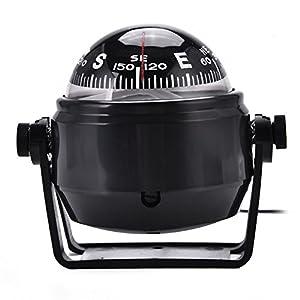 Bussola Auto/Nave, Bussola Magnetica Digitale Militare di alta Precisione All'aperto del LED per il Crogiolo Marina Dell'automobile