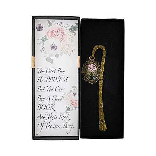 Segnalibri in metallo - Segnalibro - Regali per mamma nonna - Regalo per insegnanti - Idea regalo per lei - regali sentimentali - ciondoli a forma di libro