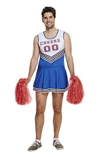 Kostüm Cheerleader Herren - ERWACHSENE CHEERLEADER MAN