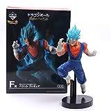 Anime Dragon Ball Z Vegeta Son Goku Fusion Gogeta Cabello Azul Figura de acción Despertar Super Saiyan Chocolate Figuración DBZ Modelo