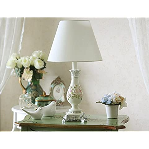 MEHE HOME-panno di giardino in stile europeo lampada da comodino camera da letto decorato - Viola Panni