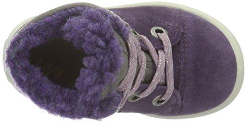 Superfit Groovy, Bottes mi-hauteur avec doublure chaude garçon Violet - Violett (TULIP KOMBI 54)
