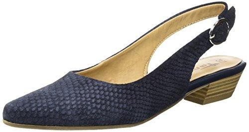 Tamaris Damen 29400 Slingback Blau (NAVY STRUCTURE 855)