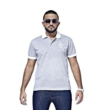 Mfaz - Polo Fashion - Couleur : Gris - Taille : XXL