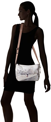 YNOT i-370, Borsa a Tracolla Donna, 31 x 24.5 x 12.5 cm (W x H x L) Multicolore (Fashion Shopping)