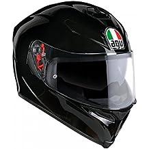 AGV Casco Moto K-5S E2205Solid plk, Negro, L