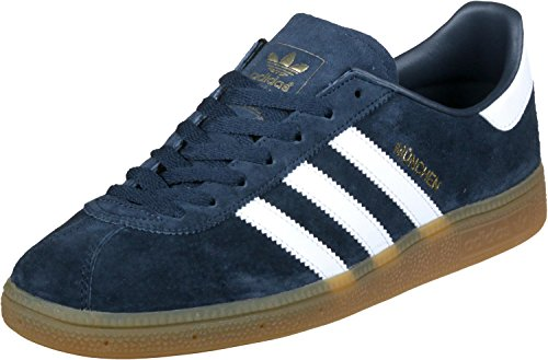 adidas München chaussures Navy/White/Gum
