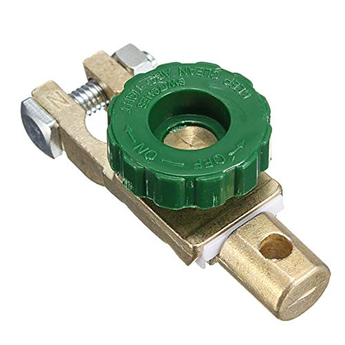 Durable Mini Good Car Heavy Duty Battery Disconnect Switch Isolator Cut off Switch Matel and ABS Used on Motors Vehicles