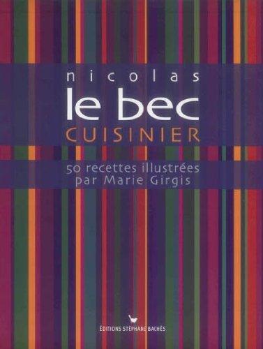 50 Recettes illustrées pour soutenir l'association docteur Clown par Nicolas Le Bec