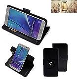 K-S-Trade® Case Schutz Hülle Für -Allview X4 Soul Infinity N- Handyhülle Flipcase Smartphone Cover Handy Schutz Tasche Bookstyle Walletcase Schwarz (1x)