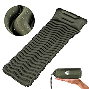 Unigear Camping Isomatte Kleines Packmaß, Aufblasbare Luftmatratze Camping, Schlafmatte für Outdoor, Ultraleicht…