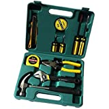 Chandi Mart LECHG LC8012 12 Pieces Metal Portable Electrical Car Maintenance Tools Kit Set, Big Size ELT-266894 (Yellow)
