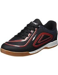 Softee Equipment Querubines, Zapatillas para Niños, Negro (Negro / Rojo), 34 EU