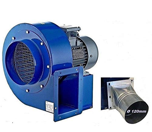 Uzman-Versand Radialgebläse 1850m3/h Radiallüfter mit 4 eck Flansch Radialventilator Radial Lüfter, Gebläse Zentrifugal Sauggebläse Saugventilator Ventilator -