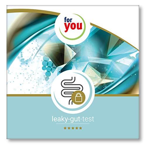 for you leaky-gut-test I zertifizierter Labor Test zur Messung des Botenstoffes Zonulin dem Wächter der Darmbarriere I Stuhlprobe Selbsttest Darm Test inkl. Handlungsempfehlungen