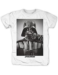 La Guerra de las Galaxias - Camiseta fashion bigote Darth Vader - Star Wars